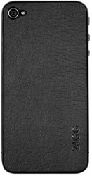 Наклейка для Apple iPhone 4S ZAGG LEATHERSkin Plain