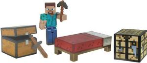 фото Фигурка Jazwares Minecraft Player Survival Pack 16450