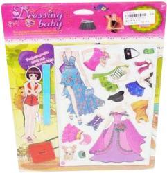 Купить магнитную куклу с одеждой