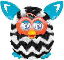 фото Теплая волна (черно-белый зигзаг) Furby Boom Hasbro A4342
