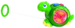 Фото каталка Динозаврик HAP-P-KID 4205T