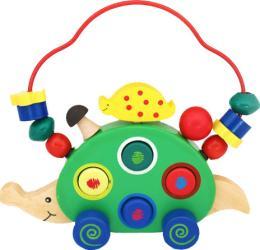 Фото каталки Мир деревянных игрушек Ежик Д187