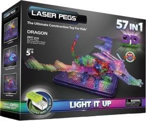 Фото электронного конструктора Laser Pegs Дракон 1070
