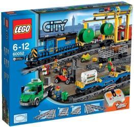 Фото радиоуправляемого конструктора LEGO City Грузовой поезд 60052
