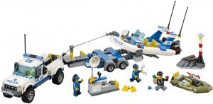 Конструктор LEGO City Полицейский патруль 60045