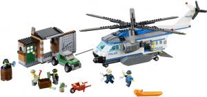 Фото конструктора LEGO City Вертолетный патруль 60046