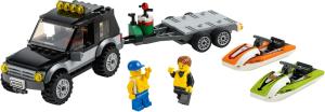 Конструктор LEGO City Внедорожник с катером 60058 SotMarket.ru 1720.000
