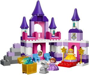 Фото конструктора LEGO Duplo София Прекрасная: королевский замок 10595
