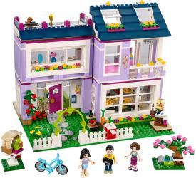 Фото конструктора LEGO Friends Дом Эммы 41095
