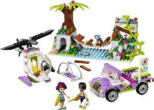 фото Конструктор LEGO Friends Джунгли: Спасательная операция на мосту 41036