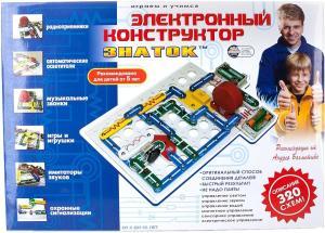 Фото электроконструктора Знаток Электронный 320 схем