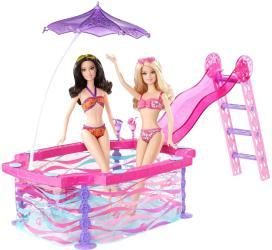 Mattel Barbie Гламурный бассейн BDF56 SotMarket.ru 1540.000