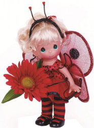 фото Кукла Precious Moments Божья коровка 3519