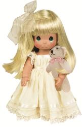 Фото куклы Precious Moments Cherich Me Blonde 4642