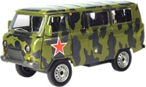 фото Автобус AUTOTIME УАЗ 39625 Армейская 1:43 30073W-RUS