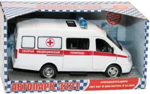 Автомобиль Joy Toy Газель Скорая помощь 1:27 9098-C SotMarket.ru 610.000