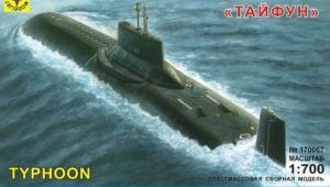 Подводная лодка Моделист Тайфун 1:700 170067 SotMarket.ru 450.000