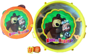 фото Барабан и бубен Маша и Медведь GT7343