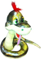 Фото змейка зеленая 22 см Sonata Style GT5867