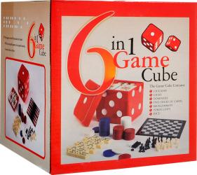 Настольная игра 6 в 1 Game Cube 35700