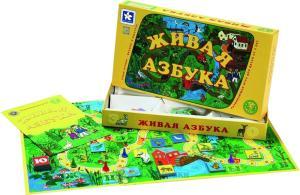 Фото настольной игры Новое поколение Живая азбука 31060