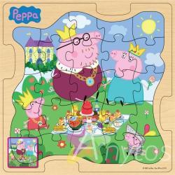 Фото детского пазла Росмэн Peppa Pig Королевская Семья 25123