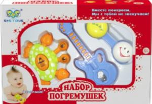 фото Набор погремушек S+S Toys EQ80056R