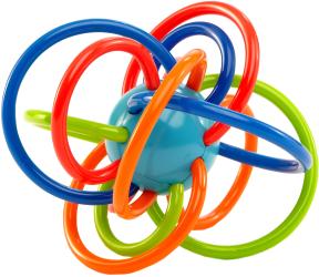 Фото Rhino Toys Oball Разноцветная планета 81511