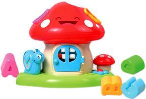 Фото S+S Toys Бамбини Домик-грибочек EQ80101R