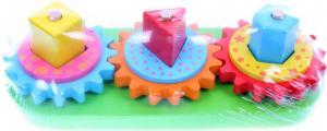 Фото вращающиеся геометрические блоки Toyslab Woody Land 71012