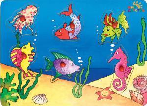 Фото рамка-вкладыш Рыбы Мир детства 27093
