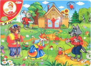 Рамка-вкладыш Теремок Играем вместе ЯВ060837 SotMarket.ru 290.000