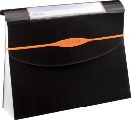 Папка Rexel Optima A4 40мм для документов пластик черный 2102481