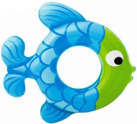 Фото надувной круг Intex Рыбка 59222