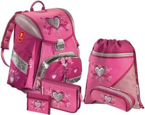 2bd27dd1bb84 Фото ранца для школы HAMA STEP BY STEP Pink Romance TOUCH с аксессуарами  H-102556