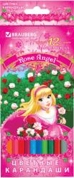 Фото набора карандашей BRAUBERG Rose Angel 180537