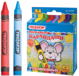 Фото набора карандашей ПИФАГОР 222968