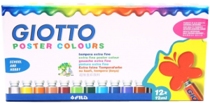 Гуашь GIOTTO Extra Fine 12 цветов 358000 SotMarket.ru 1180.000