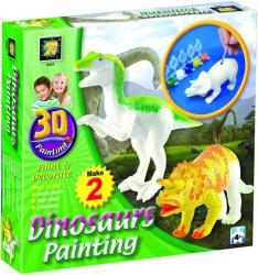 фото Разрисуй динозавров 3D Amav 2431
