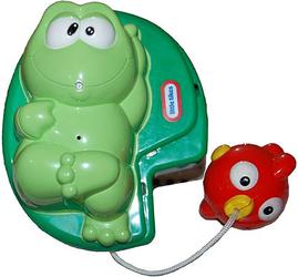Фото игрушки для купания Little Tikes Лягушка и рыбка 613272