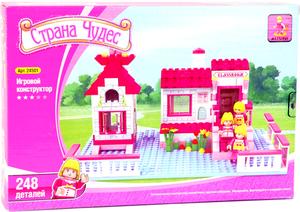 Фото конструктора Ausini Toys Страна Чудес Дом 24501