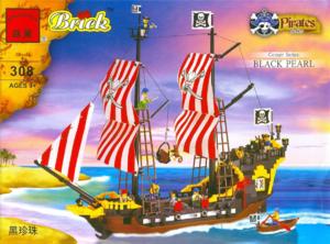 фото Конструктор Brick Пиратский корабль 69368