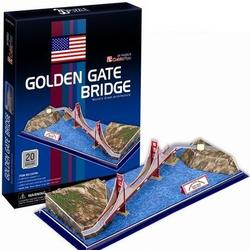 Фото конструктора CubicFun Мост Золотые ворота C078H