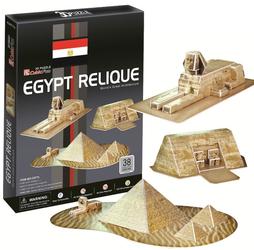 Фото конструктора CubicFun Египетские пирамиды C077H