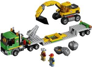 фото Конструктор LEGO City Экскаватор 4203