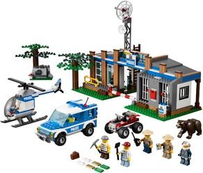 фото Конструктор LEGO City Пост лесной полиции 4440