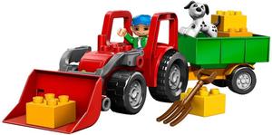 фото Конструктор LEGO Duplo Большой трактор 5647