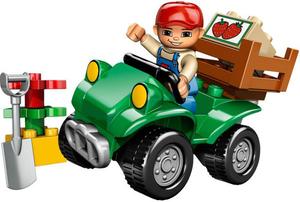 фото Конструктор LEGO Duplo Фермерский квадроцикл 5645