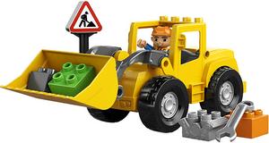 фото Конструктор LEGO Duplo Фронтальный погрузчик 10520