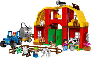 фото Конструктор LEGO Duplo Крупная ферма 5649